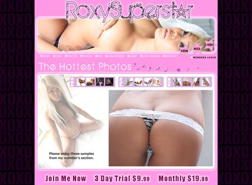 Web cam girl roxy